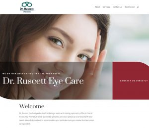 dr ruscett eye care patient